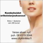 Kombohoito botox ja täyteaine