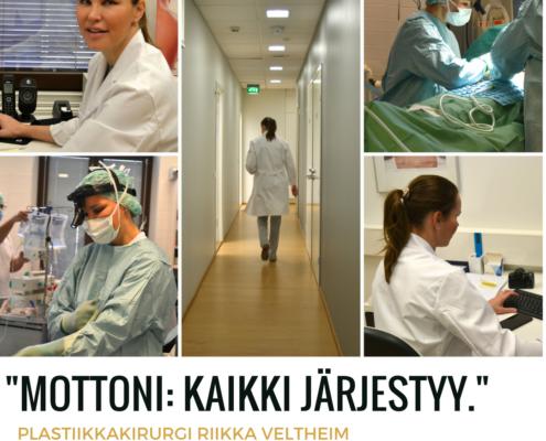 Plastiikkakirurgi Riikka Veltheim kokemuksia Cityklinikka