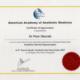 American Academy of aesthetic medicine Piotr Sikorski Cityklinikka
