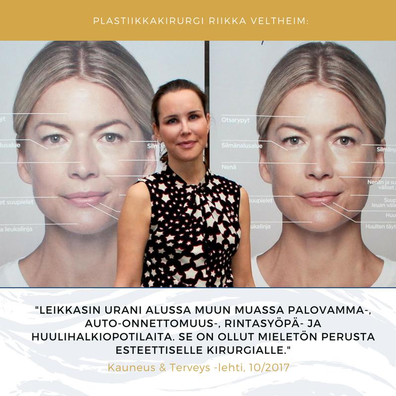 plastiikkakirurgi Riikka Veltheim kokemuksia 3