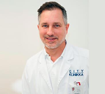Piotr Sikorski lääkäri Cityklinikka